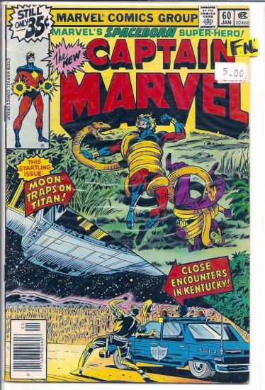 Captain Marvel # 60, 6.0 FN