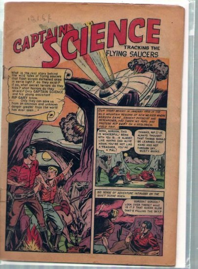 CAPTAIN SCIENCE # 1, 0.5 PR