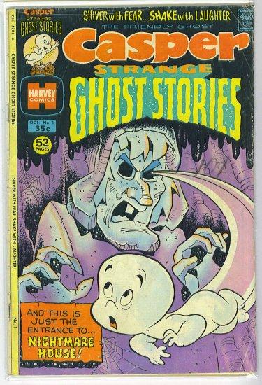 Casper Strange Ghost Stories # 1, 4.0 VG