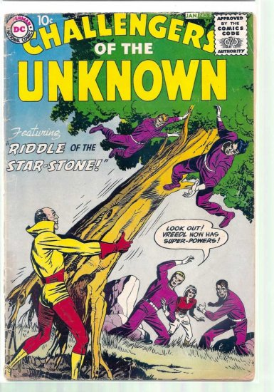 CHALLENGERS OF THE UNKNOWN # 5, 1.8 GD -
