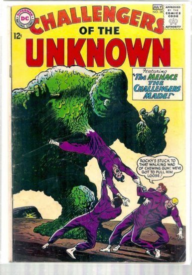 CHALLENGERS OF THE UNKNOWN # 38, 4.0 VG