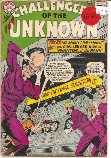 Challengers of the Unknown # 39, 3.0 GD/VG