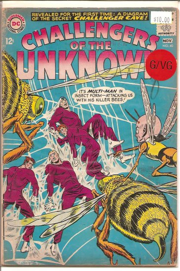 Challengers Of The Unknown # 40, 3.0 GD/VG