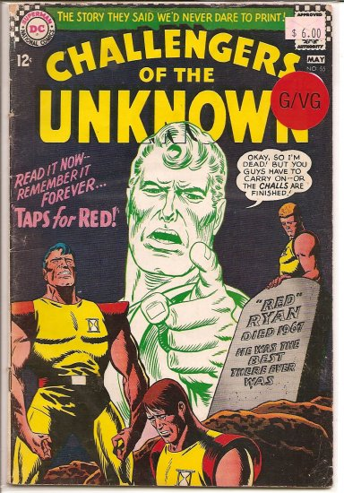 Challengers of the Unknown # 55, 3.0 GD/VG