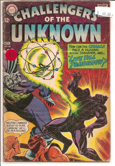Challengers of the Unknown # 58, 2.0 GD
