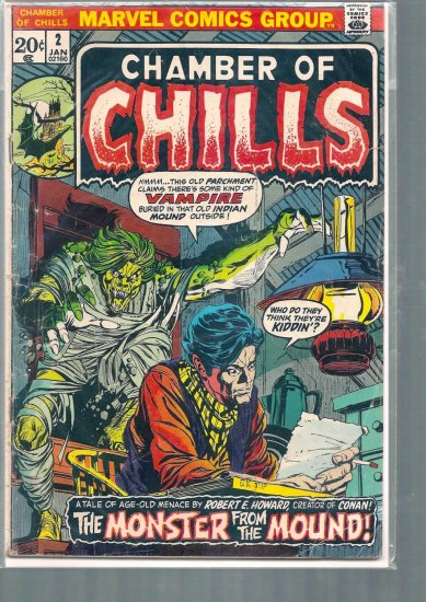 CHAMBER OF CHILLS # 2, 2.5 GD +