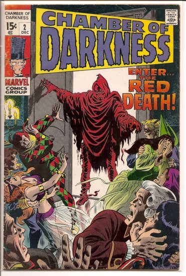 Chamber of Darkness # 2, 4.0 VG