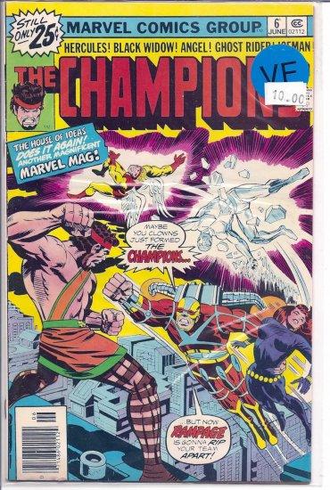 Champions, The # 6, 8.0 VF