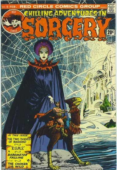 Chilling Adventures In Sorcery # 5, 4.5 VG +