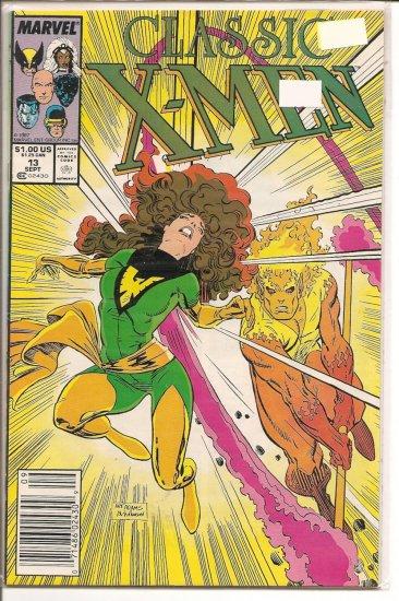 Classic X-Men # 13, 7.5 VF -