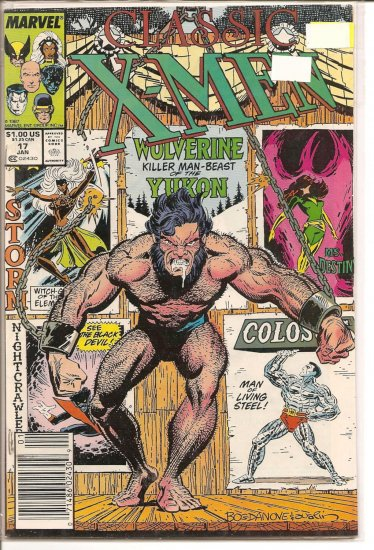 Classic X-Men # 17, 8.0 VF