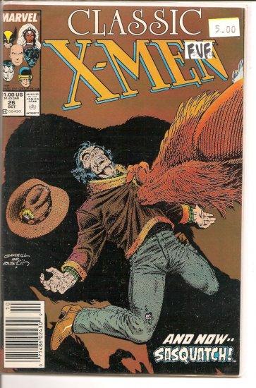 Classic X-Men # 26, 7.0 FN/VF