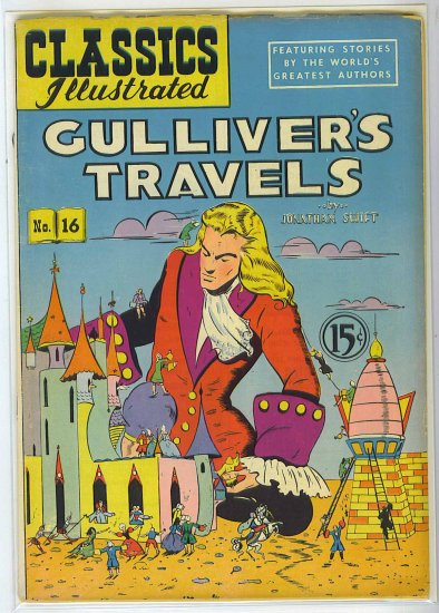 Classics Illustrated # 16, 2.5 GD +