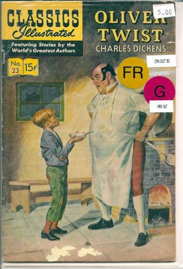 Classics Illustrated # 23, 1.5 FR/GD