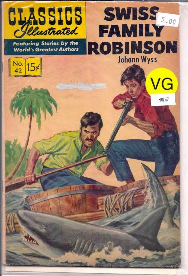 Classics Illustrated # 42, 4.0 VG