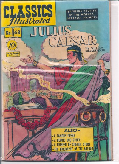 Classics Illustrated # 68, 2.5 GD +