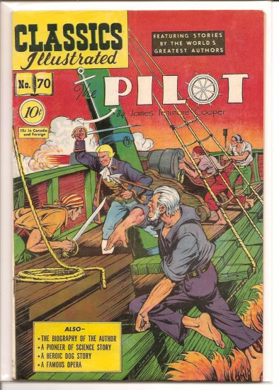 Classics Illustrated # 70, 4.5 VG +