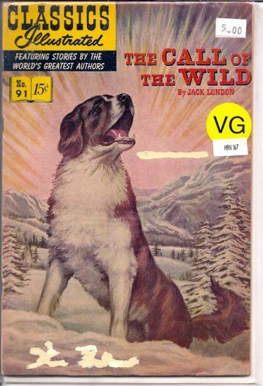 Classics Illustrated # 91, 4.0 VG