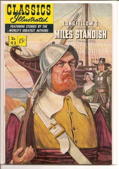 Classics Illustrated # 92, 4.5 VG +
