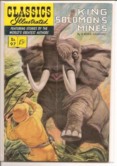 Classics Illustrated # 97, 4.5 VG +