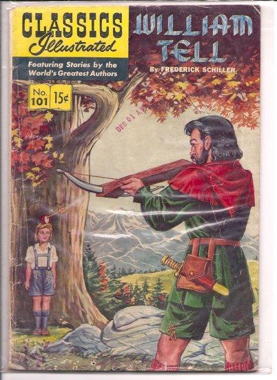 Classics Illustrated # 101, 3.5 VG -