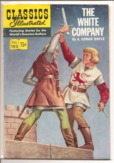 Classics Illustrated # 102, 4.5 VG +