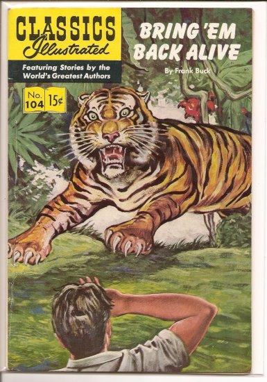 Classics Illustrated # 104, 4.5 VG +