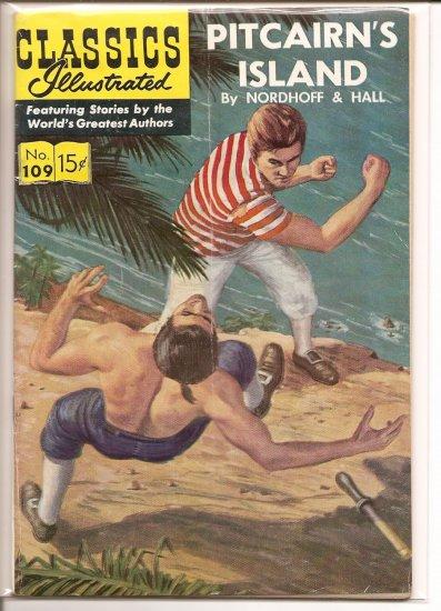 Classics Illustrated # 109, 4.5 VG +