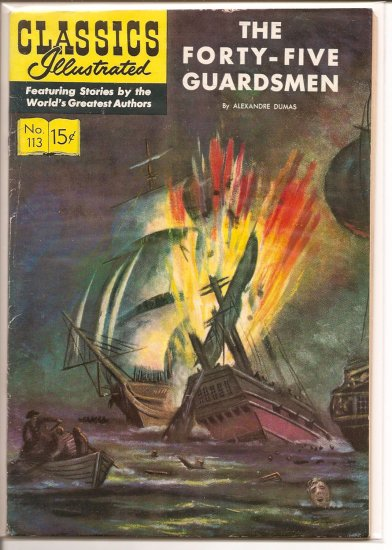 Classics Illustrated # 113, 4.5 VG +