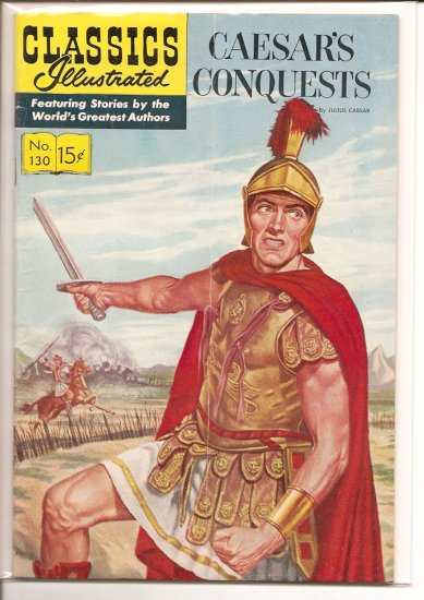 Classics Illustrated # 130, 4.5 VG +