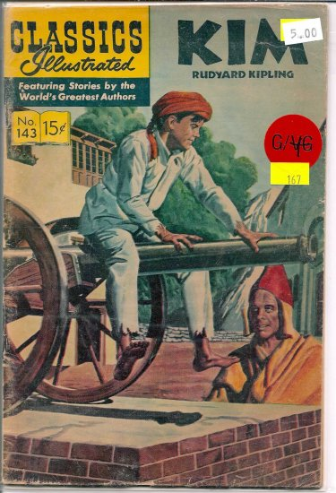 Classics Illustrated # 143, 2.5 GD +