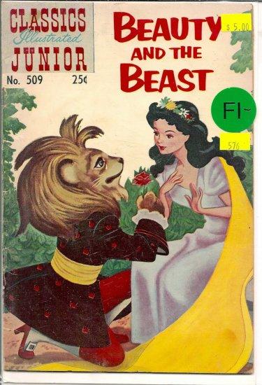 Classics Illustrated Junior # 509, 5.5 FN -