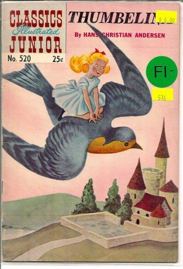 Classics Illustrated Junior # 520, 5.5 FN -