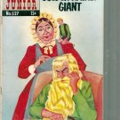 CLASSICS ILLUSTRATED JUNIOR THE GOLDEN-HAIRED GIANT # 527, 2.5 GD +