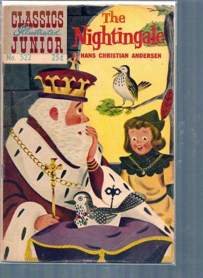 CLASSICS ILLUSTRATED JUNIOR THE NIGHTENGALE # 522, 3.0 GD/VG