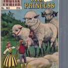 CLASSICS ILLUSTRATED JUNIOR THE SILLY PRINCESS # 565, 4.0 VG