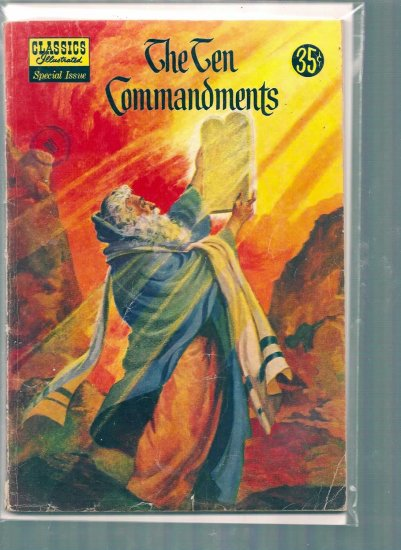 CLASSICS ILLUSTRATED SPECIAL ISSUE THE TEN COMMANDMENTS # 135, 4.0 VG