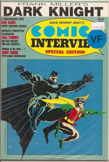 Comics Interview # 31, 8.0 VF