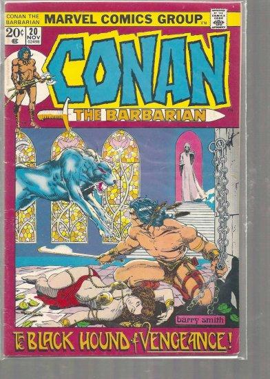 CONAN # 20, 4.5 VG +
