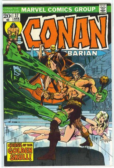 Conan # 37, 8.5 VF +