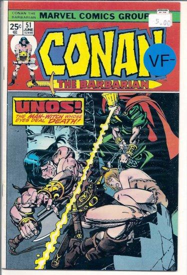 Conan # 51, 7.5 VF -