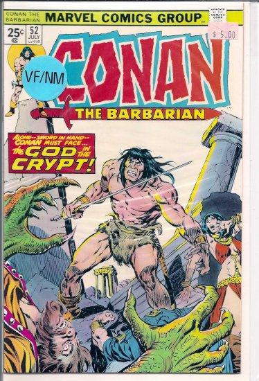 Conan # 52, 9.0 VF/NM