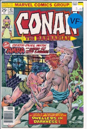 Conan # 63, 7.5 VF -