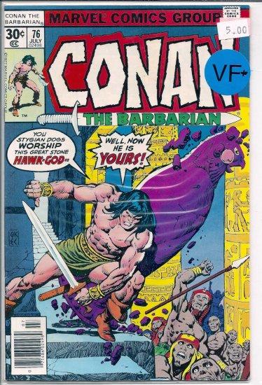 Conan # 76, 7.5 VF -