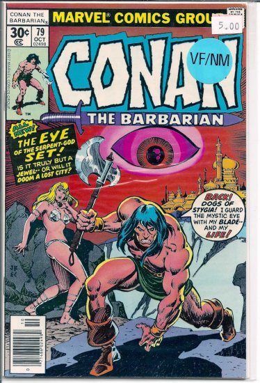 Conan # 79, 9.0 VF/NM
