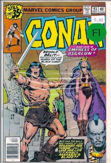 Conan # 93, 6.0 FN