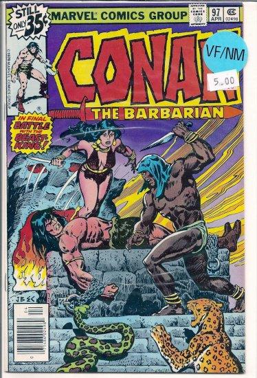 Conan # 97, 9.0 VF/NM