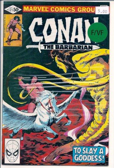 Conan # 121, 7.0 FN/VF