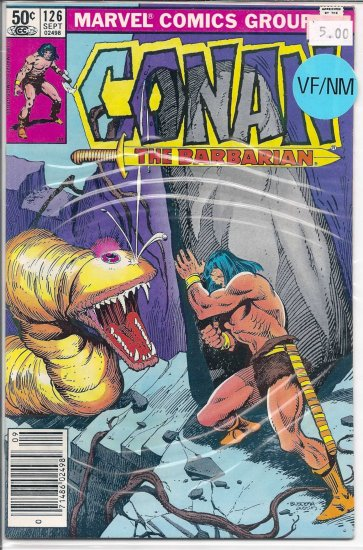 Conan # 126, 9.0 VF/NM