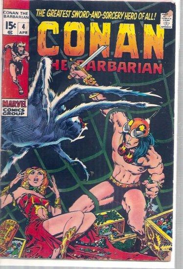 CONAN THE BARBARIAN # 4, 2.0 GD